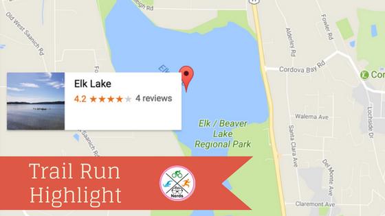 Elk Lake BC – Outdoor Trail Run Highlight